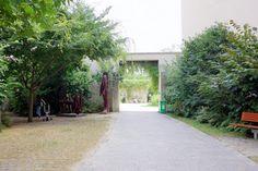 Paris : Le jardin Anne Frank, îlot de verdure méconnu - IIIème   Paris la douce