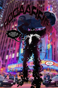 Spider Verse Digital Spider-man fan comic page 2 by Joey Vazquez