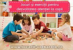 Jocuri si exercitii pentru dezvoltarea atentiei la copii – sugestii
