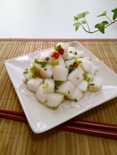 New Year's Food, Good Food, Healthy Summer Recipes, Snack Recipes, Cook Pad, Asian Recipes, Ethnic Recipes, Japanese Food, Vegetable Recipes