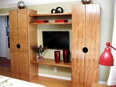Learn how to construct a simple cabinet that could stand on its own or be part of an entertainment center.