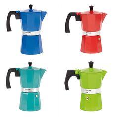 Cafeteras Pantone, para un café colorido
