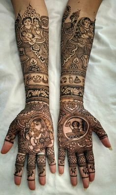 Indian mehndi for baby shower