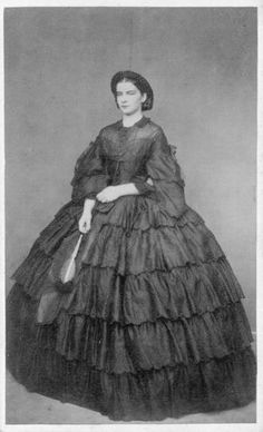 1860's Multi-tiered dress