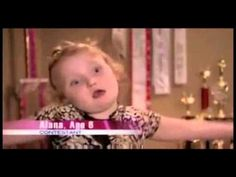 Greatest Toddlers and Tiaras kid...ever. @Christa Childers