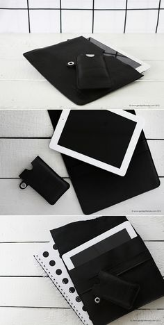 ipad case from real reindeerleahter, made in Finland