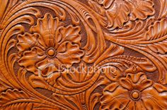 free leather tooling patterns - Google Search