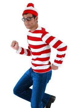 Elope Where's Waldo Youth Costume Kit, Youth Large
