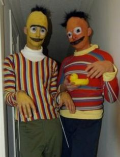 Bert and Erie will haunt your dreams