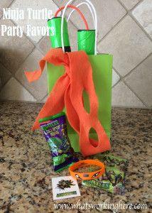 Ninja Turtle Party Favors