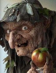 Better not bite that apple!