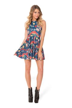 The Nutcracker Reversible Skater Dress (WW 48HR $85AUD / US - LIMITED $80USD) by Black Milk Clothing