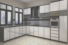 Aluminum Kitchen cabinets ABC Builders & Constructions
