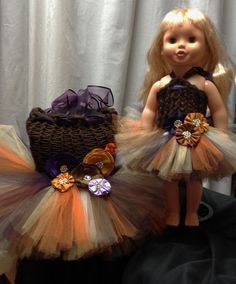Girl and Doll Matching Outfits by Bowsbaublesandbeads on Etsy, $65.00