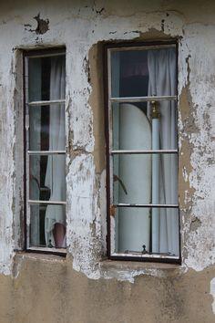 Old Farm House Windows