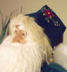 Santa and his marvelous hat.  The Brazilian Embroidery is exquisite.