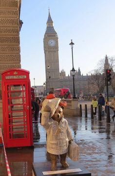 Paddington, in Westminster England Ireland, England And Scotland, England Uk, London England, Cute Bear, Paddington Bear, Jolie Photo, London Calling, Wanderlust