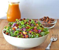 Harvest Salad with Pumpkin Vinaigrette | The Veg Life