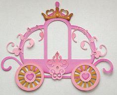 Prefabricados Carruaje Princesa Paper Piecing Por Mi Lágrima Osos Kira in Artesanías, Colec. de recortes y artesanías de papel, Trozos de papel | eBay