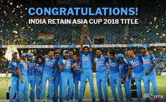 Congratulations for defeating the Bangladesh team.- Congratulations for defeating the Bangladesh team in a nail-biting Congratulations for defeating the Bangladesh team in a nail-biting and lifting the once again! Asia Cup 2018, Cricket Sport, Nail Biting, Finals, Jewerly, Congratulations, Funny Quotes, World, Daily Inspiration