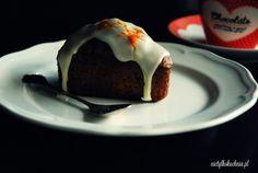 Babeczki marchewkowe z lukrem i karmelizowaną marchewką - Nie(tylko)kuchnia