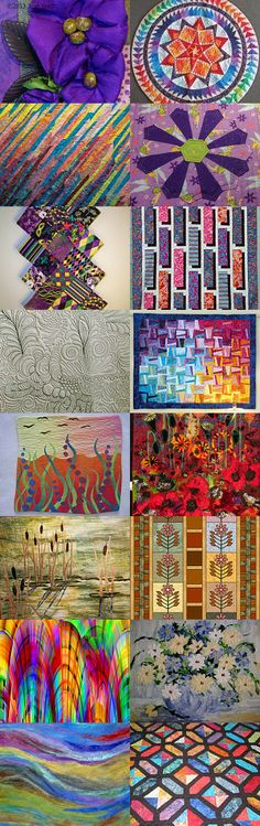 the amazing world of quilts by Ann Brauer on Etsy--Pinned with http://TreasuryPin.com