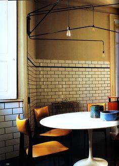Saarinen table in Emiliano Salci's Milan kitchen : WOI April 2013