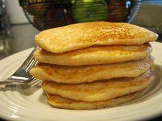 Heart Healthy Whole Wheat Pancakes! Whole Wheat Pancakes, Oat Pancakes, Pumpkin Pie Spice, Pumpkin Puree, Grain Foods, Bread Baking, Grains, Good Food, Healthy Recipes