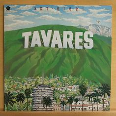 TAVARES - Sky High - near mint - nm - Disco Pop Soul - Vinyl LP incl. Ridin High