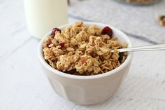 Homemade Granola Clusters made in the Thermomix... what a deliciously easy start to the day!