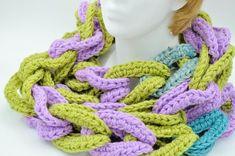 Extra long scarf / crocheted scarf / handmade ladies scarf /