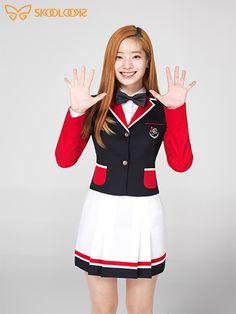교복입은 트와이스 급식단! 다현 & 쯔위 & 채영의 예쁜교복 스쿨룩스 화보♥ : 네이버 블로그