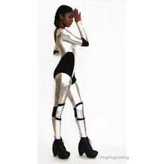 Star Wars Catsuit Captain Phasma Stormtrooper Costume Robot