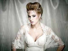 Ivory lace bridal bolero 4 options shawl shrug twist by noavider, $45.00