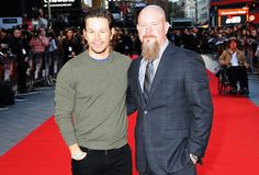 "Mark Wahlberg (L) and Mike Williams attend the European Premiere of ""Deepwater Horizon"" at Cineworld Leicester Square on September 2016 in London, England. (Photo by Dave J Hogan/Dave J Hogan/Getty Images) Mark Wahlberg, Peter Berg, Deepwater Horizon, Mike Williams, Kurt Russell, Lone Survivor, Gina Rodriguez, John Malkovich, Leicester Square"