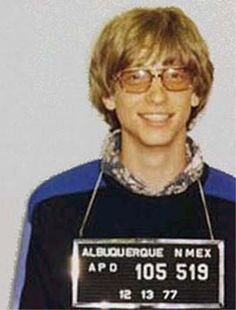 459dfbe224e Celebrity Mug Shots  Bill Gates Bill Gates