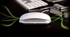 Magic Charger from Mobee Technology. Wireless charger for the Apple Magic Mouse. Inductive Charging, Apple Products, Computer Mouse, Charger, Technology, Apple Magic, Magic Mouse, Keyboard, Gadgets