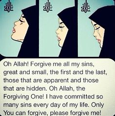 Repentance May Allah guide us, May Allah ease us to the straight path and forgive us Aamiin