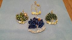 Tree of Life pendants by Mary Drayer