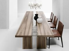 Bross Ritz Dining Table, Luxury Walnut Dining Table, Buy Online at LuxDeco