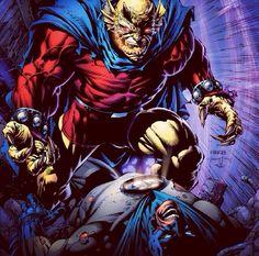 Etrigan Vs Batman