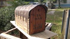 """Other side of """"Jimbo"""" Rustic Mailboxes, Outdoor Decor, Home Decor, Decoration Home, Room Decor, Home Interior Design, Home Decoration, Interior Design"""