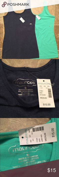 Maurices NWT scoop Neck size medium tanks! NWT maurices size medium tank top! Smoke free home! Maurices Tops Tank Tops