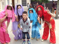 #usj_official Mikey with #beautiful #Japanese #genie(s)