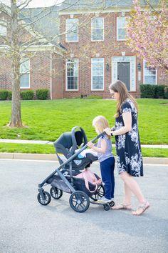 UppaBaby Vista Stroller & Mesa Car Seat Review   Breezing Through ...