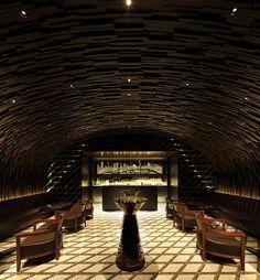 Intersect by Lexus Flagship by Wonderwall, Tokyo Japan #architecture #interiordesign #bar