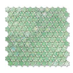 #Sicis #Neoglass Petites Fleurs F15 Galingale   #Murano glass   on #bathroom39.com at 326 Euro/box   #mosaic #bathroom #kitchen