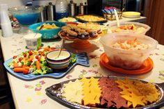 under the sea: party food--maybe good ideas for bubble guppies themes