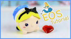 DIY EOS Lip Balm: Alice in wonderland Tsum Tsum Tutorial ~ Air Dry Clay