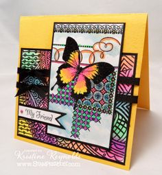 #cre8time for great inspiration this week on our blog! http://bit.ly/VT8XNA #Stampendous Butterfly Pattern